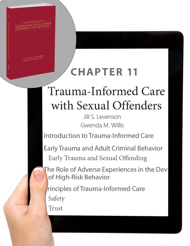 Trauma-Informed Care with Sexual Offenders