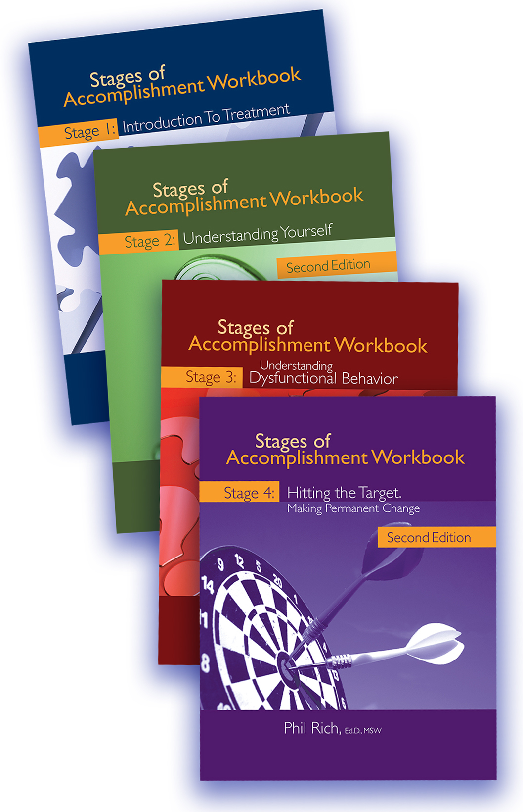 Set of 4 Stages of Accomplishment Workbooks